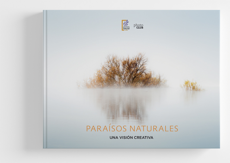"""Portada """"Paraísos Naturales, Una visión creativa"""""""